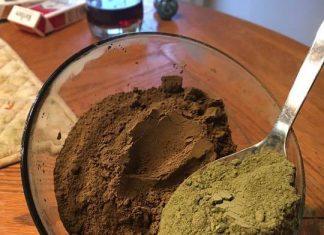 mixed maeng da kratom