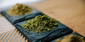 white vein and green vein Kratom
