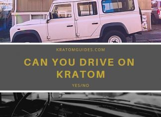 driving while on kratom